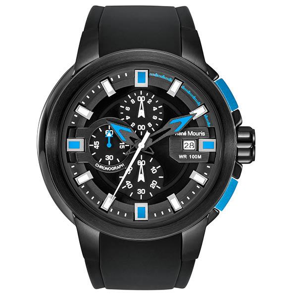 ساعت مچی عقربه ای رنه موریس مدل Prowler 90123 RM2 1