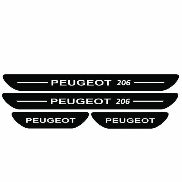 برچسب پارکابی خودرو مدل S127 مناسب برای پژو 206