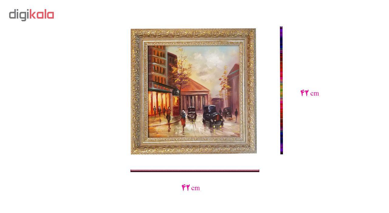 تابلو نقاشی رنگ روغن طرح شانزلیزه کد MRK5  thumb 2 5