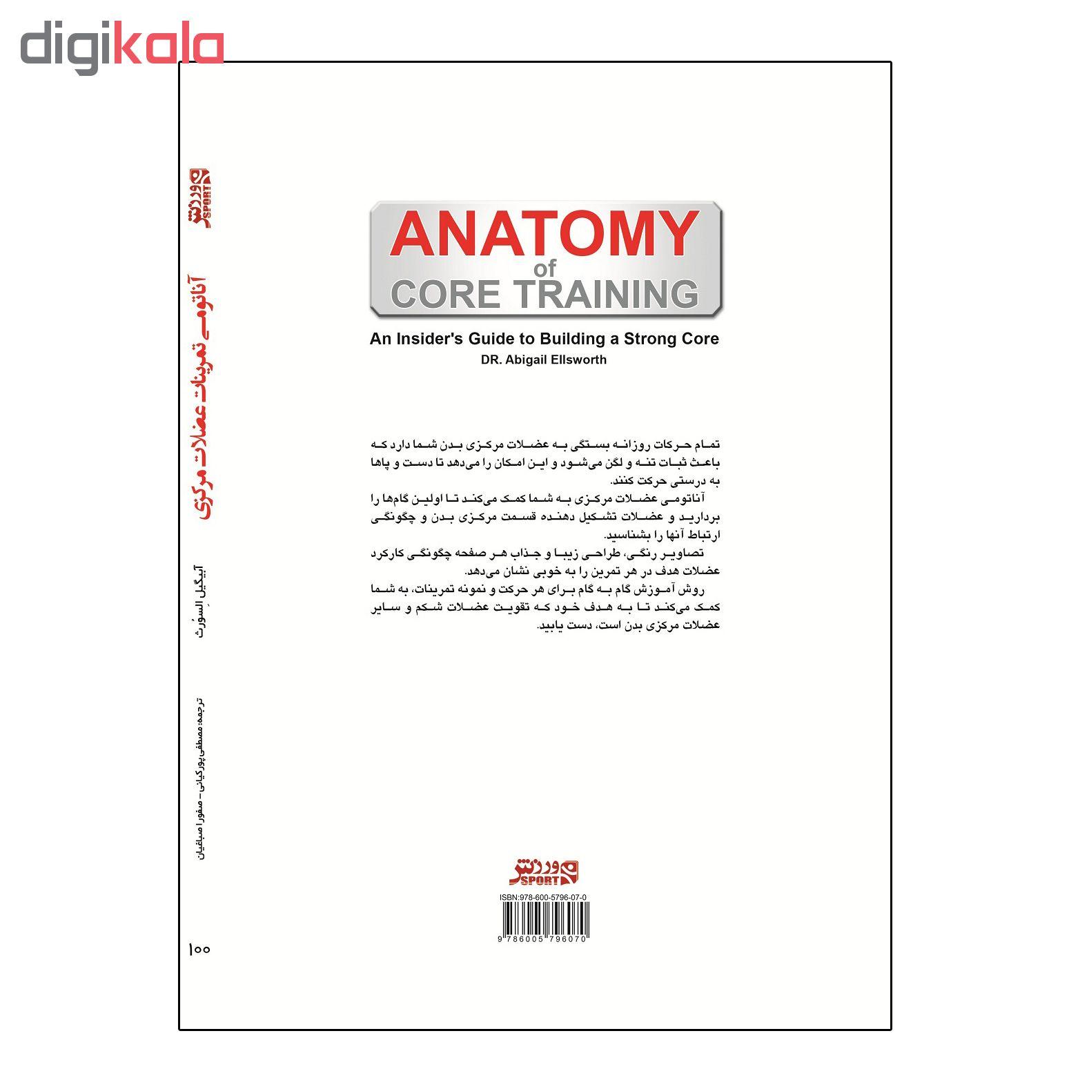 کتاب آناتومی تمرینات عضلات مرکزی اثر آبیگیل السورث انتشارات ورزش thumb 2 1