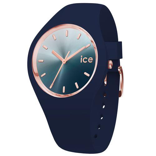 ساعت مچی عقربه ای آیس واچ مدل ICE SUNSET-BLUE-MEDIUM-3H