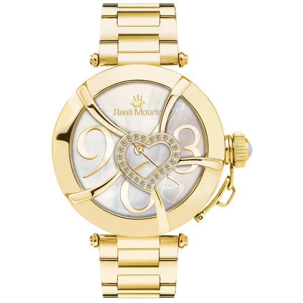 ساعت مچی عقربه ای زنانه رنه موریس مدل Coeur d Amour 50102