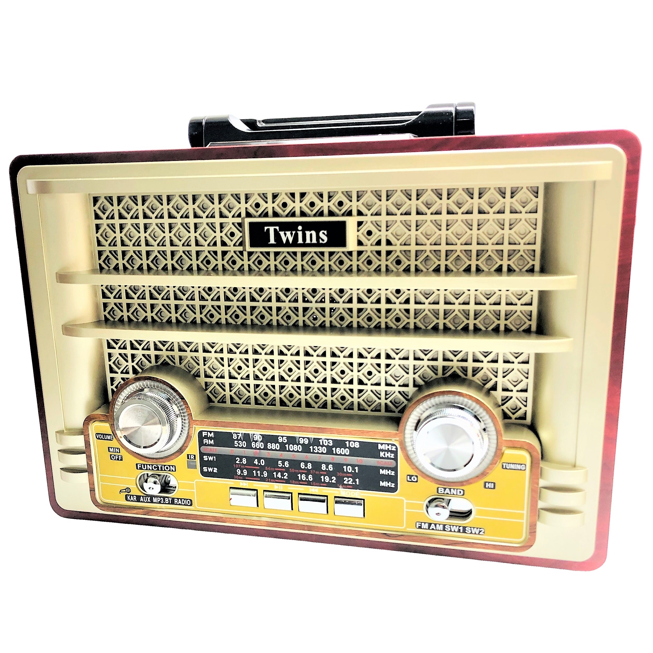 رادیو توینس مدل 1480BT