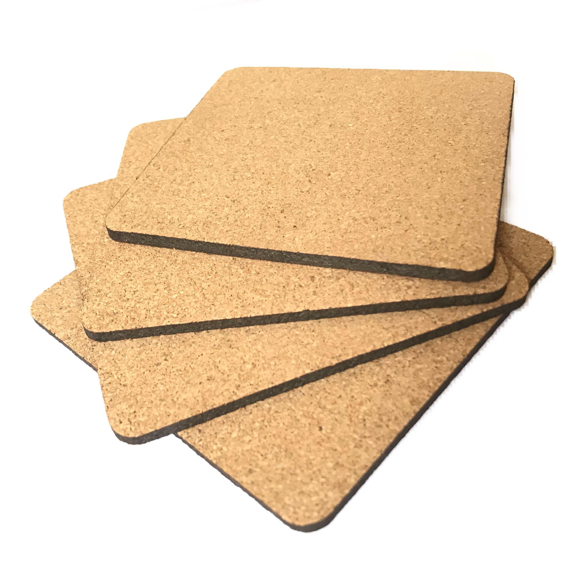 عکس زیرلیوانی ایران کرک مدل Square بسته ۴ عددی