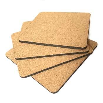 زیرلیوانی ایران کرک مدل Square بسته ۴ عددی