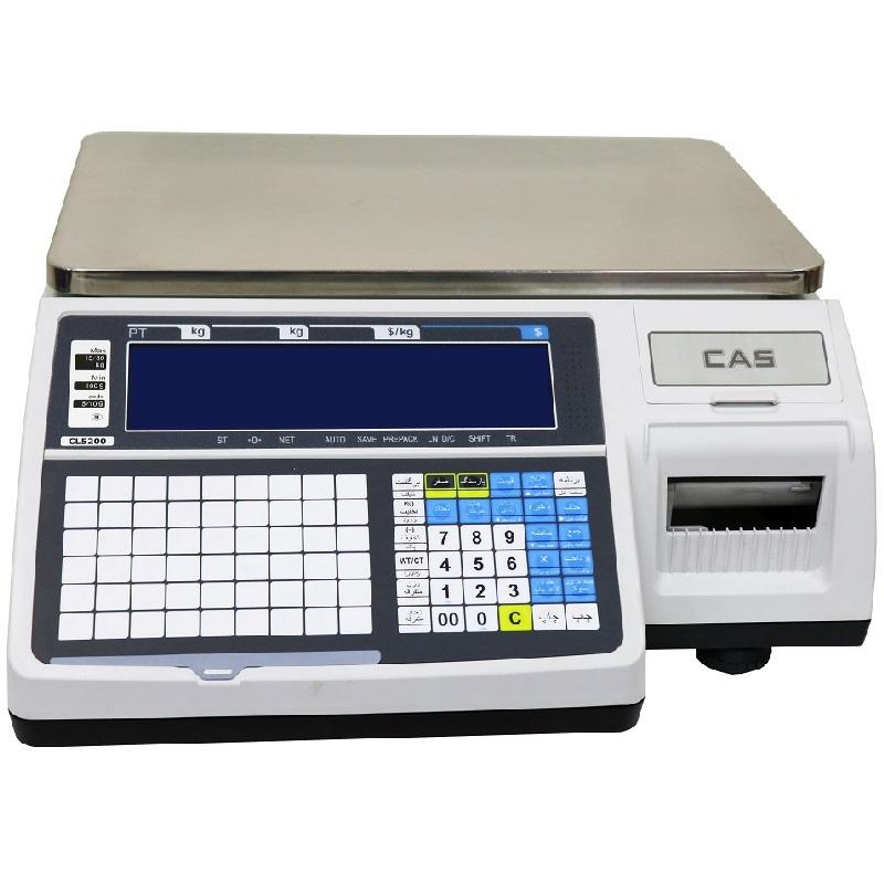 ترازوی فروشگاهی کاس مدل CL5200B