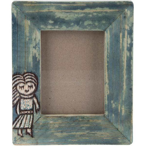 قاب عکس چوبی گالری اشکان نقش 10 سایز 12 × 9 سانتی متر