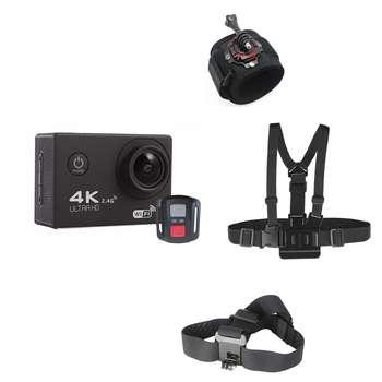 دوربین ورزشی اسپورت کم مدل F60R به همراه بند دوربین