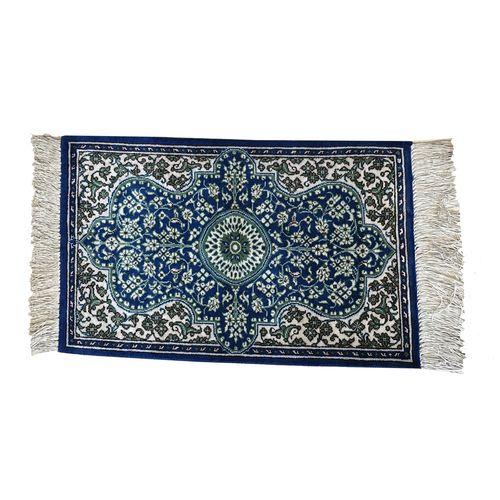فرش دستباف تمام ابریشم دوازده صدم متری کد YM.115