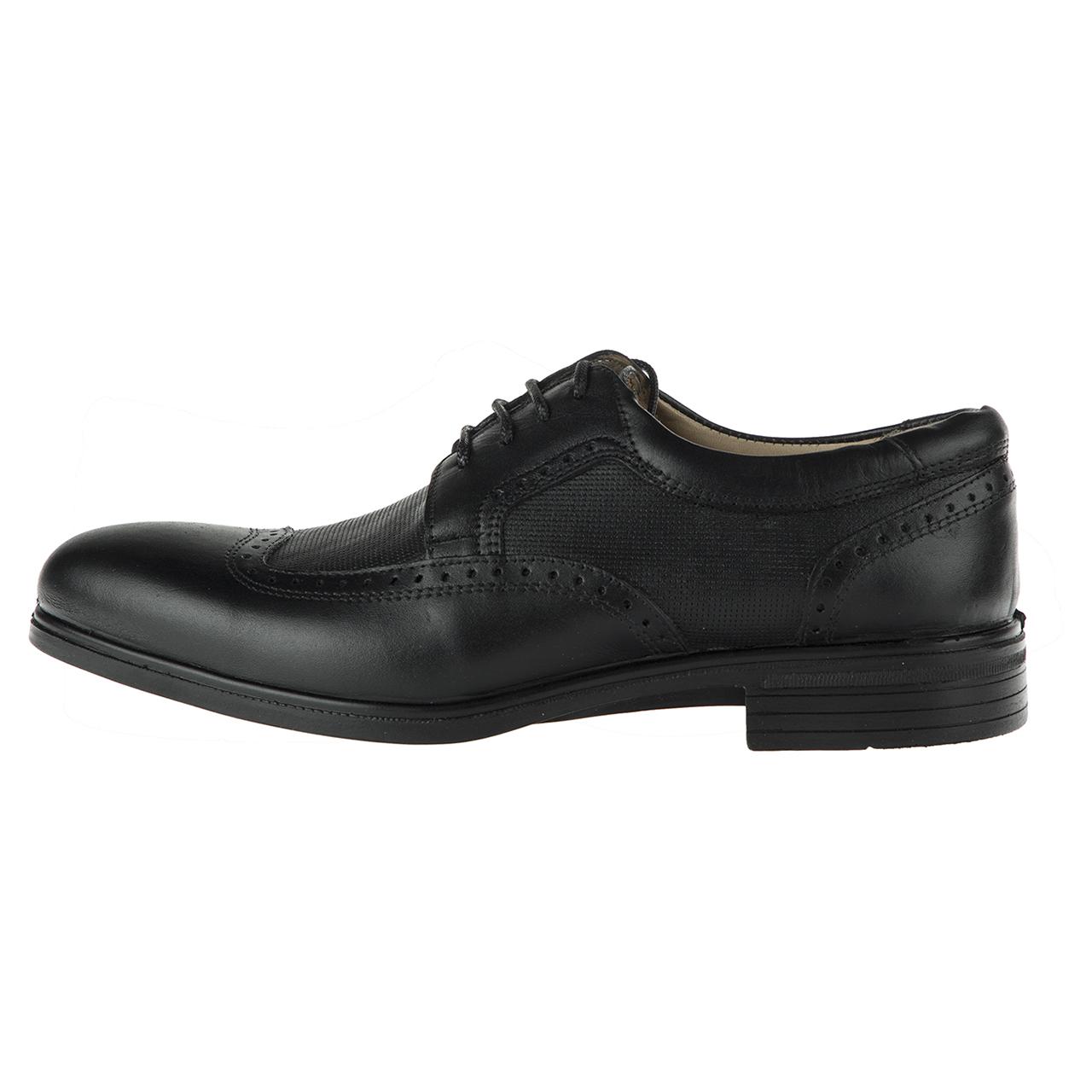 کفش چرم مردانه ونوس کد444