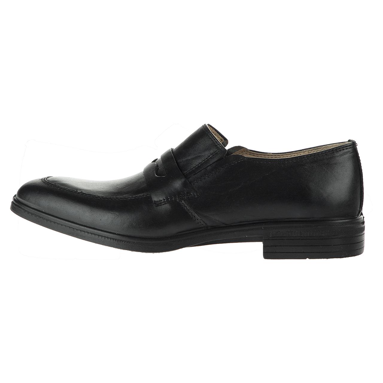 کفش چرم مردانه ونوس کد 333