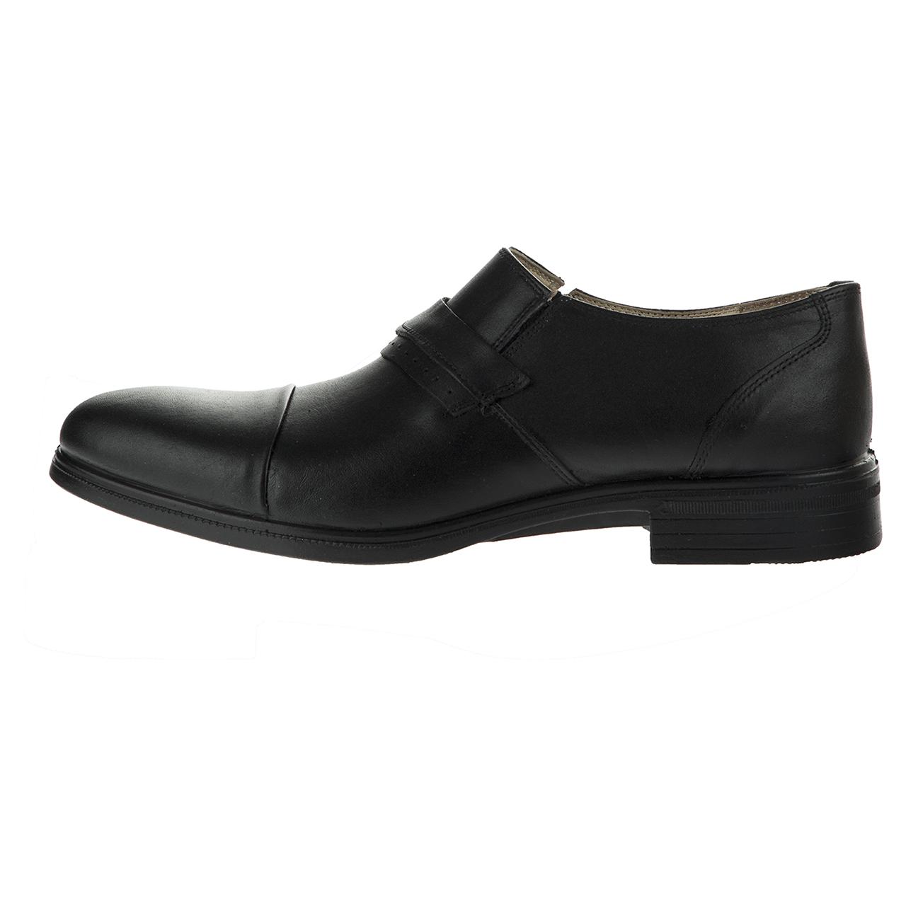 کفش چرم مردانه ونوس کد 222