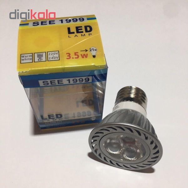 لامپ پاور ال ای دی 3.5 وات مدلSEE1999 E27