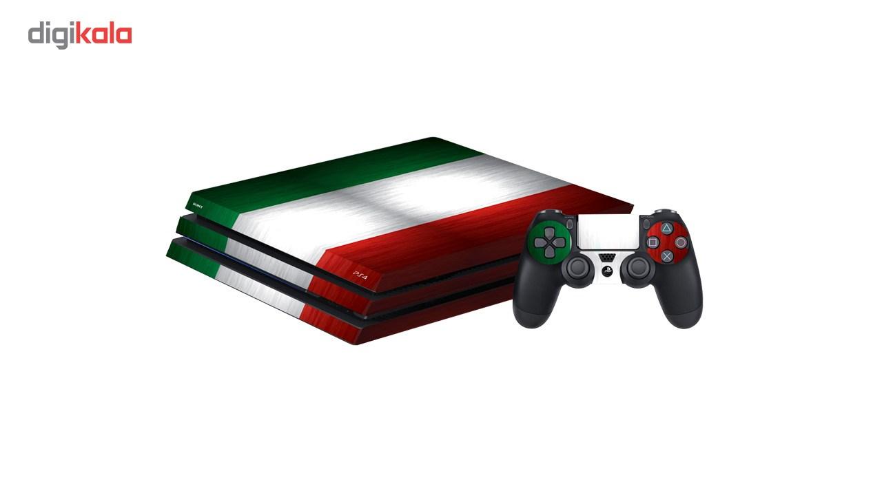 خرید اینترنتی برچسب افقی پلی استیشن 4 گراسیپا طرح Italy اورجینال