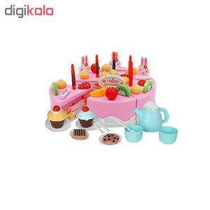 ست اسباب بازی طرح کیک تولد مدل B889-15