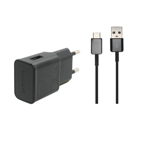 شارژر دیواری سامسونگ مدل EP-TA20 به همراه کابل تبدیل USB-C