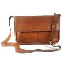 کیف رو دوشی چرم طبیعی ایوا مدل آروین