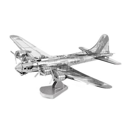 پازل فلزی سه بعدی - مدل BMK air craft b17