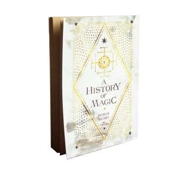 دفتر بیگای استودیو طرح کتاب تاریخچه ی جادو از باتیلدا بگشات هری پاتر |