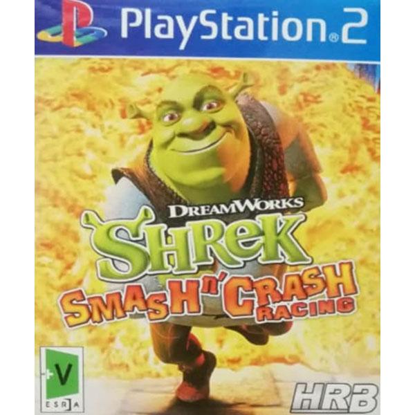 بازی SHREK SMASHN CRASH RACING مخصوص PS2