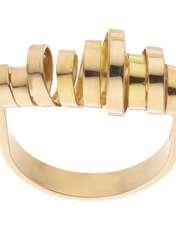 انگشتر طلا 18 عیار زنانه سنجاق مدل X068337 -  - 1