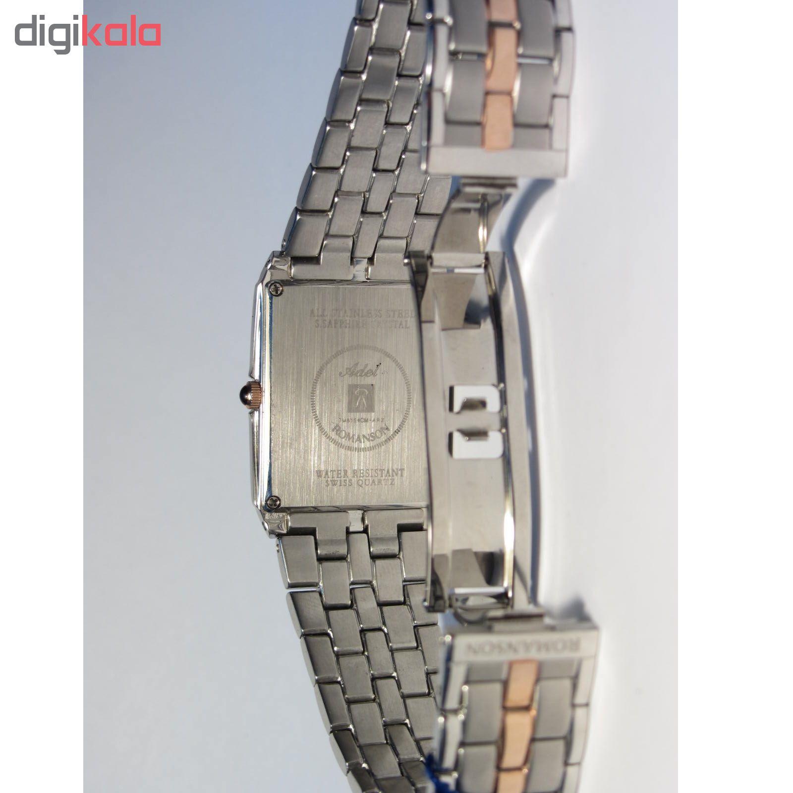 کد تخفیف                                      ساعت مچی عقربه ای مردانه رومانسون مدل TM8154CM1JAS6R