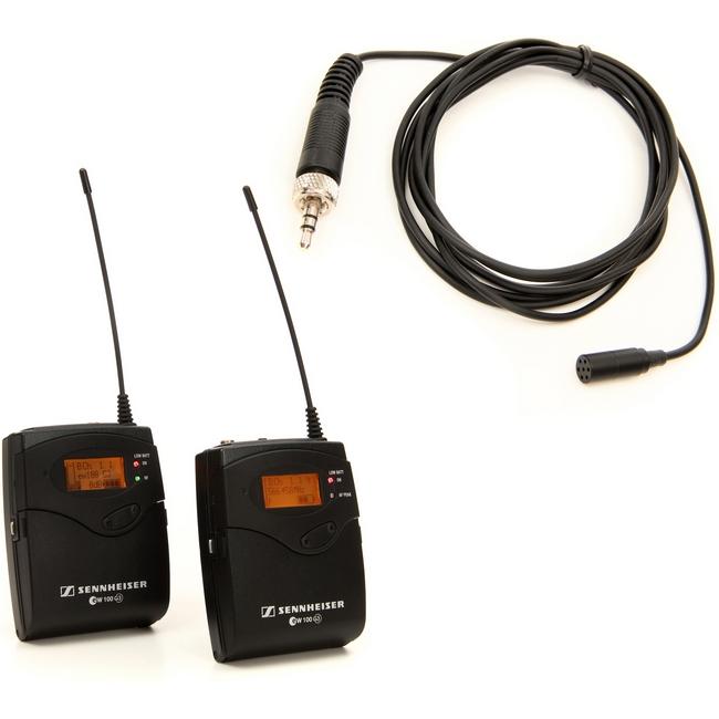 میکروفون بی سیم یقه ای دوربین سنهایزر مدل EW 112-P G3