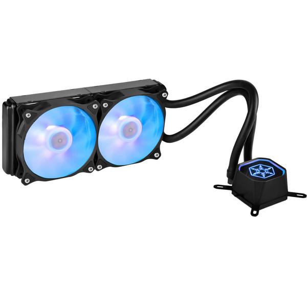 خنک کننده پردازنده سیلوراستون مدل Tundra SST-TD02-RGB