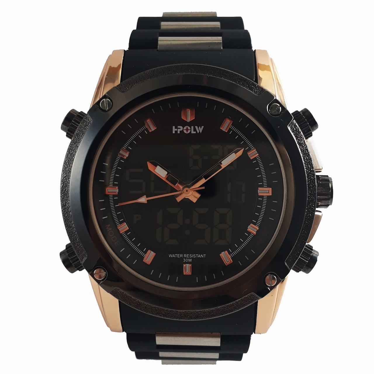 ساعت مچی عقربه ای مردانه اچ-پولو مدل FSK1801