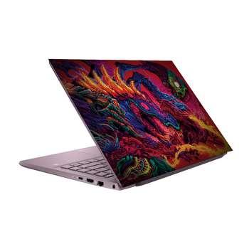استیکر لپ تاپ طرح اژدها کد 10 مناسب برای لپ تاپ 15.6 اینچی