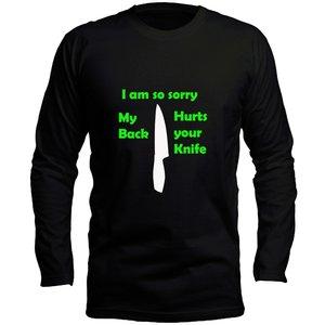تی شرت آستین بلند مردانه طرح نایف کد LB162