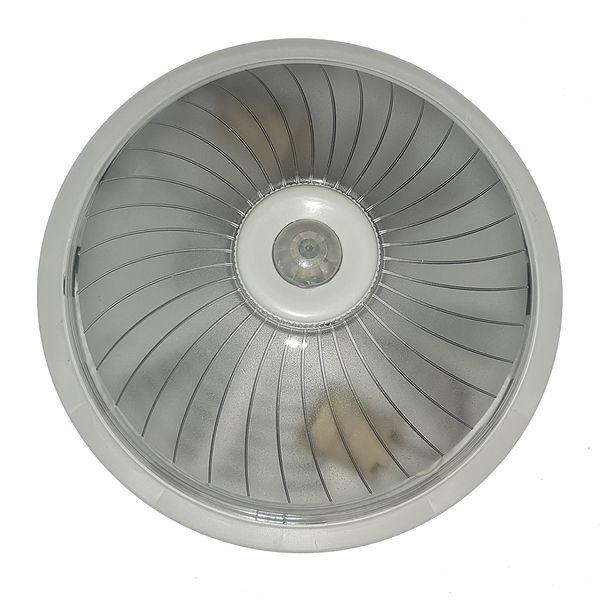چراغ سقفی اشیلدار مدل سنسور دار پلاستیکی دوسرپیچ