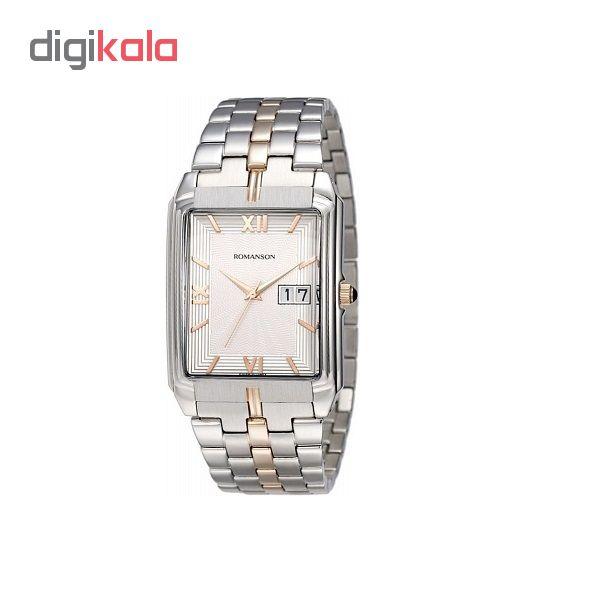کد تخفیف                                      ساعت مچی عقربه ای مردانه رومانسون مدل TM8154CX1JAS6R