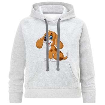 هودی پسرانه طرح سگ بامزه کد C67 |