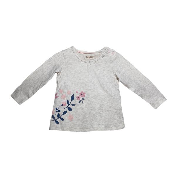 تی شرت آستین بلند نوزادی لوپیلو مدل 318126