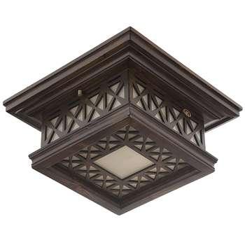 چراغ سقفی دارکار مدل توپاز کوچک کد 308