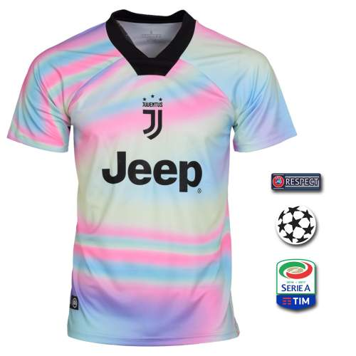 پیراهن ورزشی مردانه طرح یوونتوس کد 19-18