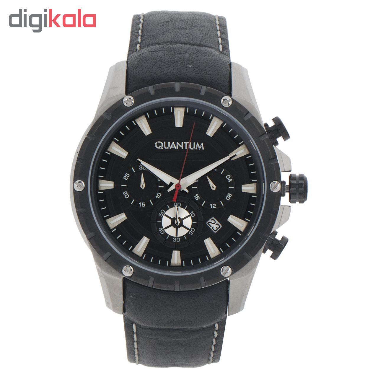 ساعت مچی عقربه ای مردانه کوانتوم مدل ADG488.351              ارزان