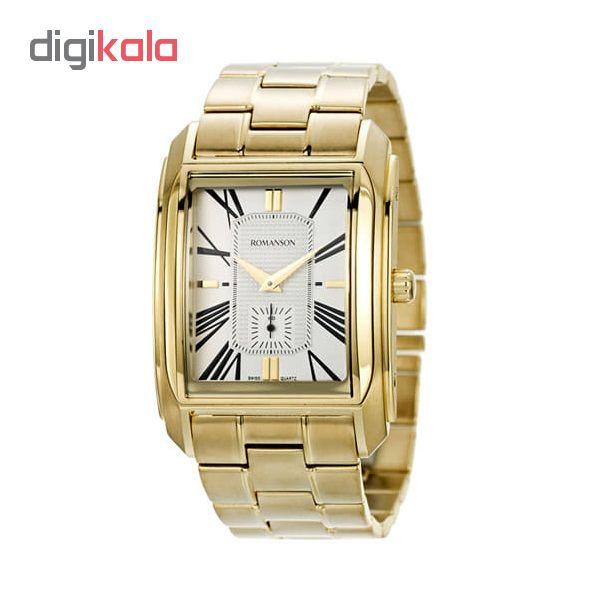 کد تخفیف                                      ساعت مچی عقربه ای مردانه رومانسون مدل TM2629JM1GAS1G