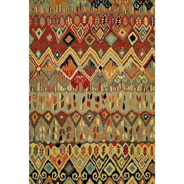 فرش ماشینی فرش ابریشمی کرامتیان طرح آرتینه کد 5948