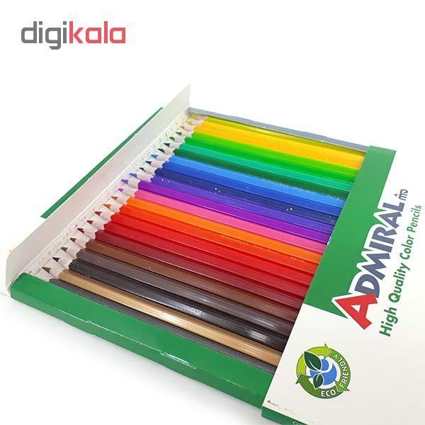 مداد رنگی 24 رنگ آدمیرال مدل 761C24 main 1 5