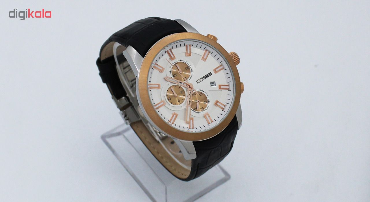 خرید ساعت مچی عقربه ای مردانه لدفورت کد MK-0131