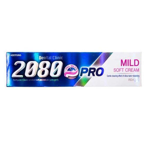 خمیر دندان 2080 مدل Pro Mild حجم 125 گرم