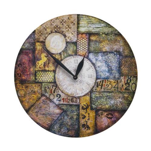 ساعت دیواری طرح آنتیک کد 1450