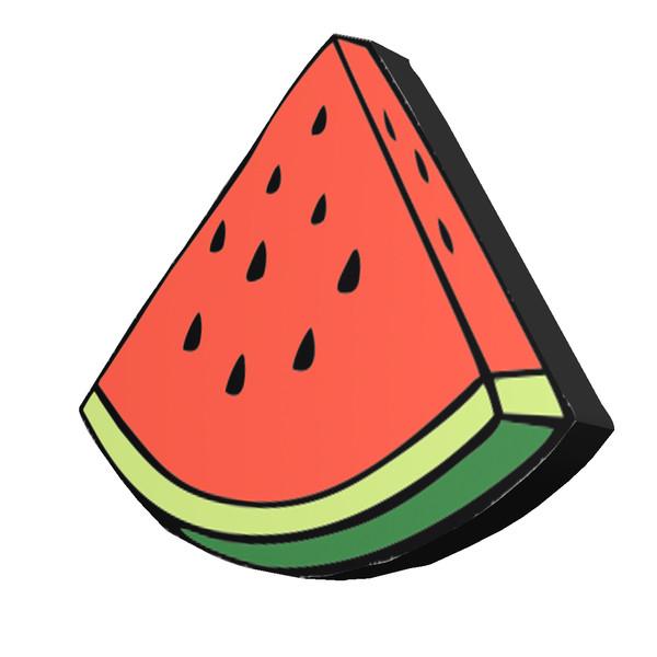 استیکر طرح هندوانه مدل Food1