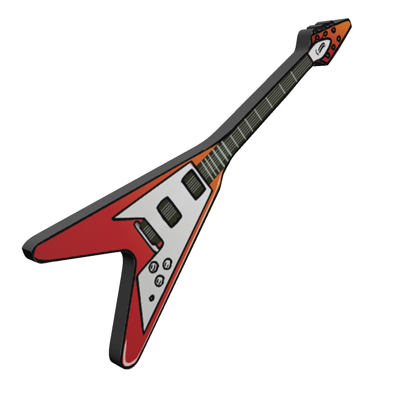بررسی و {خرید با تخفیف} استیکر طرح گیتار مدل Electric Guitar اصل