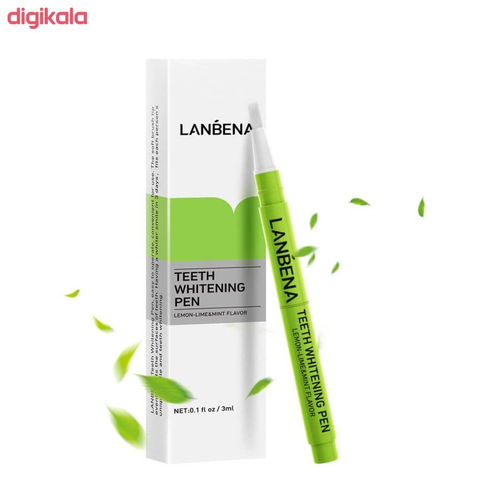 قلم سفید کننده دندان لنبنا کد 001  main 1 2