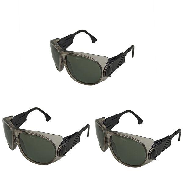 عینک ایمنی مدل E692 مجموعه 3 عددی