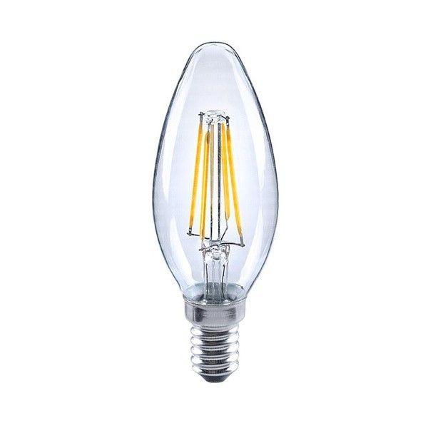 لامپ فیلامنتی ال ای دی 4 وات مدل شمعی پایه E14