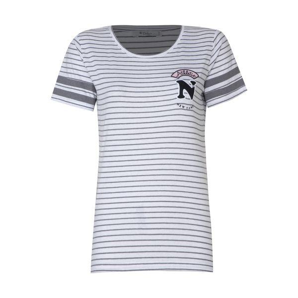 تی شرت زنانه کالینز مدل CL1032849-GREYMELANGE